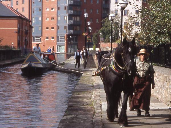 Maria on the Ashton Canal