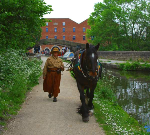 Maria on the Peak Forest Canal