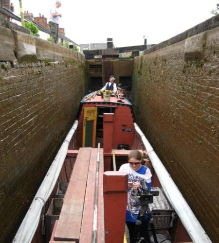 Maria in Thurlwood Lock