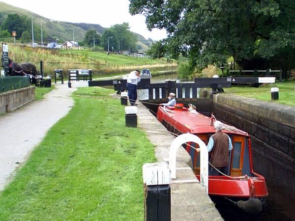 Vixen on the Rochdale Canal