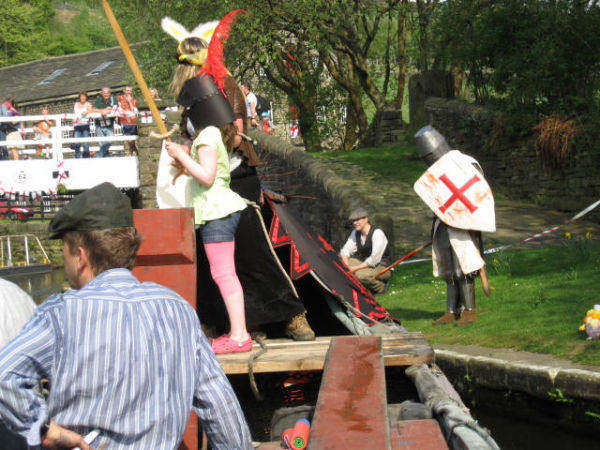St George's Day at Standedge