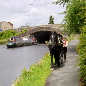 Elland on the Rochdale Canal
