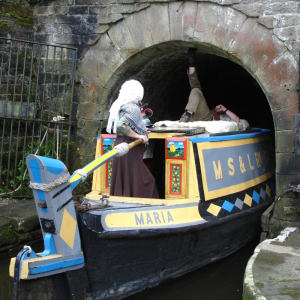 Maria at Standedge Tunnel
