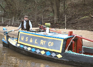 At the opening of Bugsworth Basin